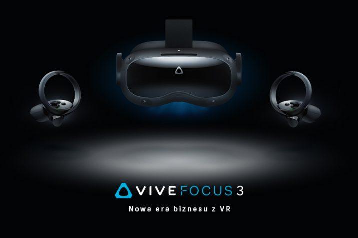 Vive Focus 3 - gogle VR dla biznesu już w przedsprzedaży