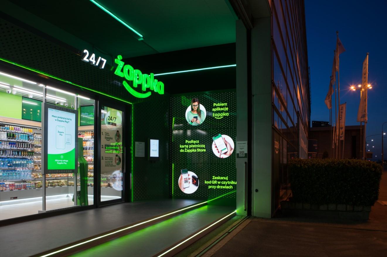 Żappka Store - pierwsza Żabka bez obsługi otwarta w Poznaniu