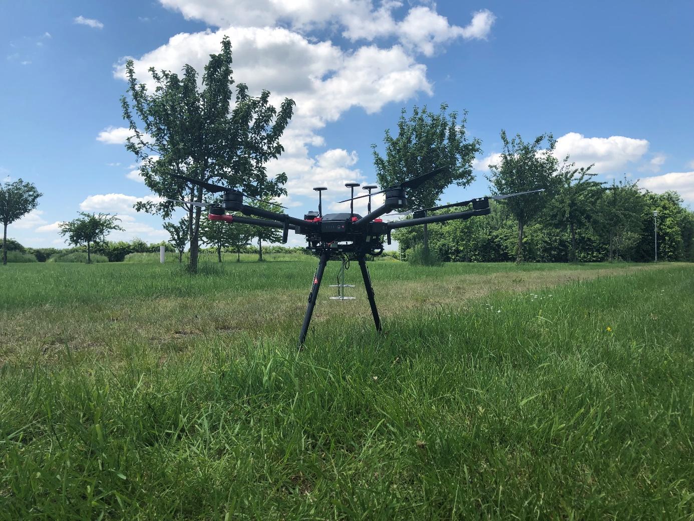 Ten dron ruszy na pomoc ofiarom katastrof
