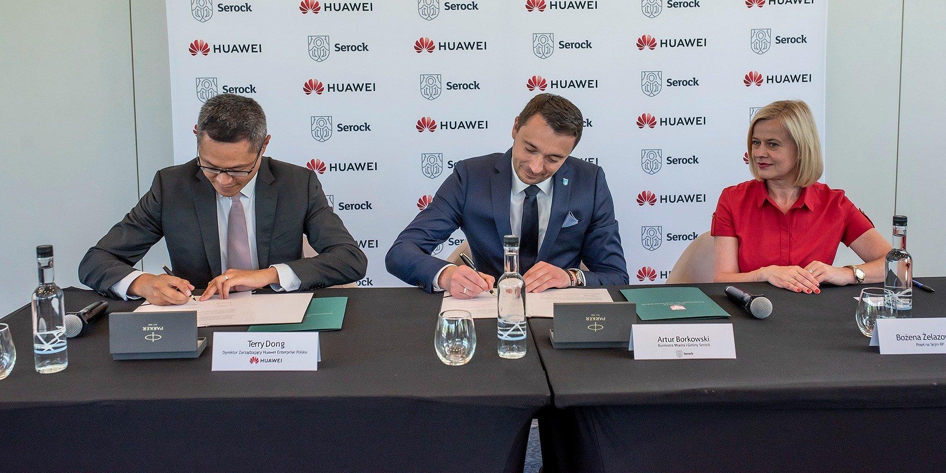 Huawei Serock SmartCity fot. Huawei