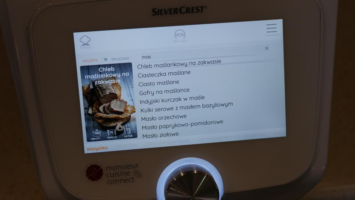 Silvercrest Monsieur Cuisine Connect / fot. Kacper Żarski