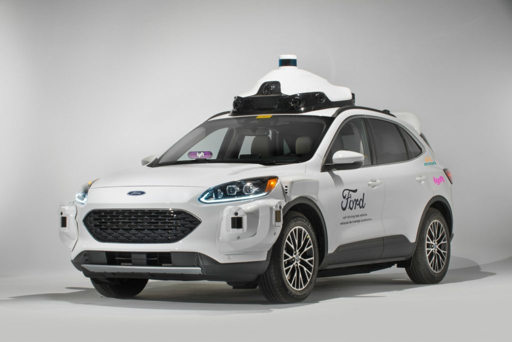 Ford autonomiczny samochód