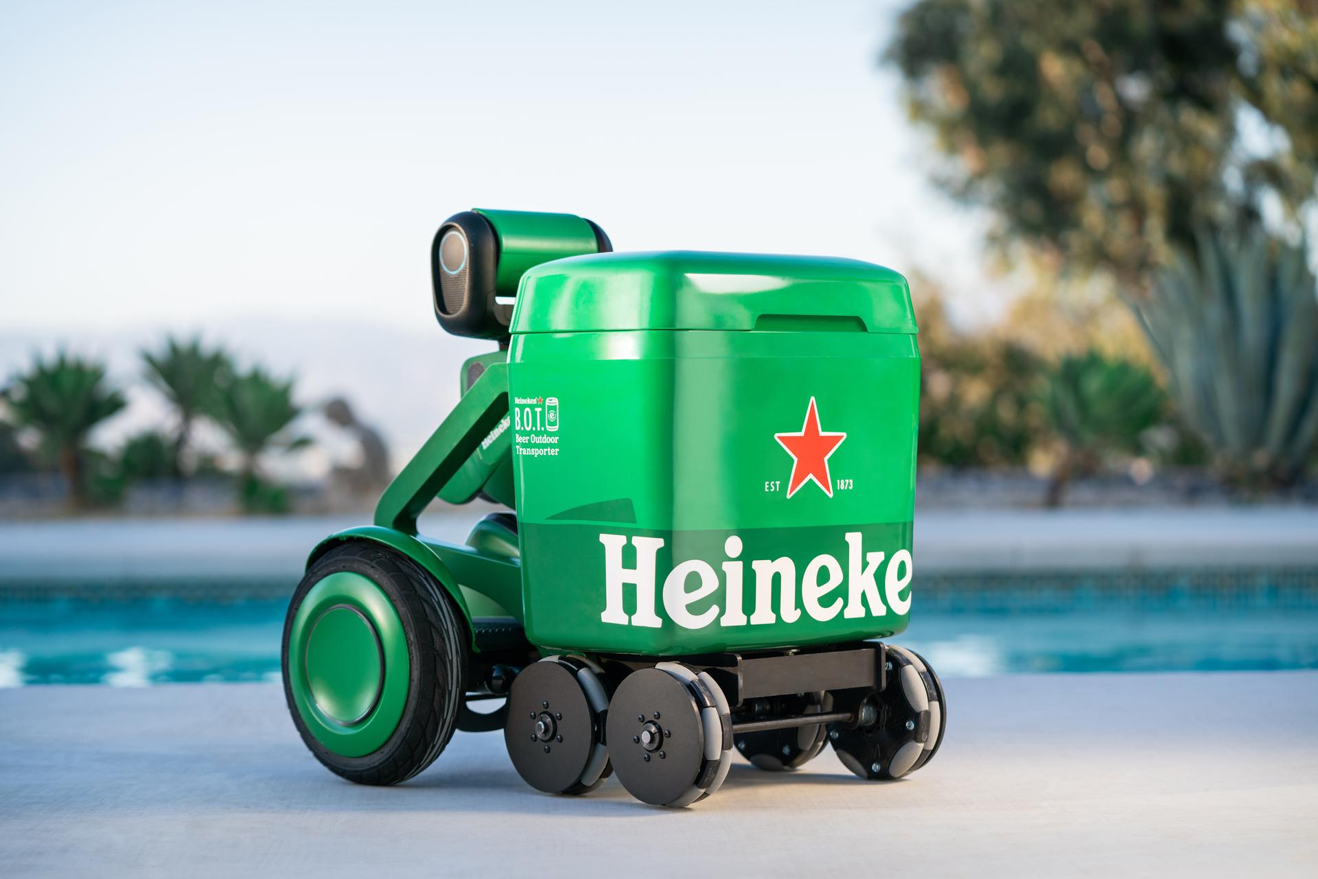 Lodówka Heineken B.O.T. fot. Heineken