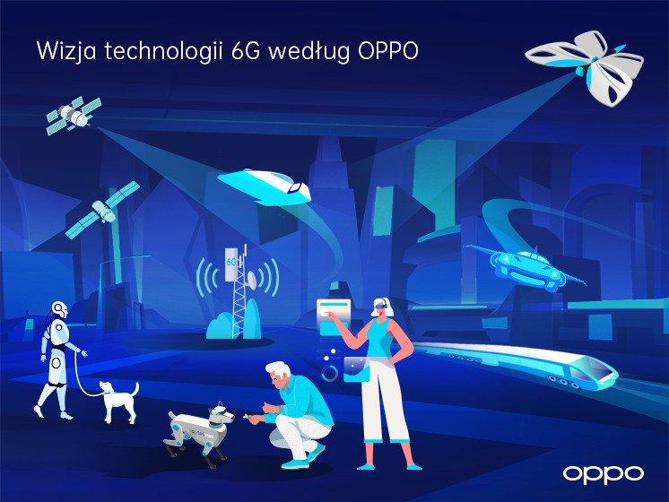 AI będzie jednym z filarów 6G, mówi raport OPPO