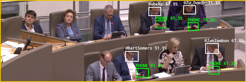 Parlament Regionu Flamandzkiego smartfony