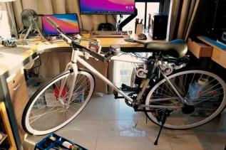 Skoro pracujemy nad autonomicznymi samochodami, zbudujmy też autonomiczny rower - powiedział inżynier Huawei i wcielił pomysł w życie