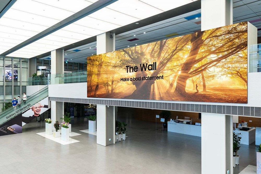 Demonstracja siły Samsunga - telewizor The Wall zachwyca jeszcze bardziej