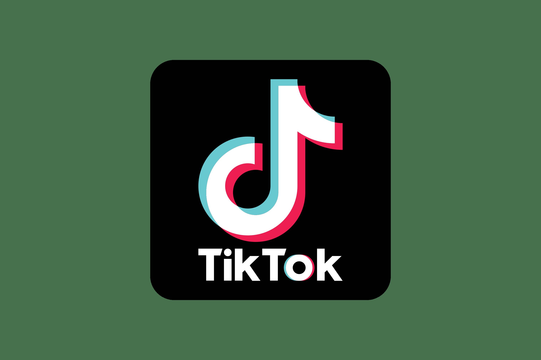 Obraz przedstawia logo spółki córki ByteDance - TikToka.