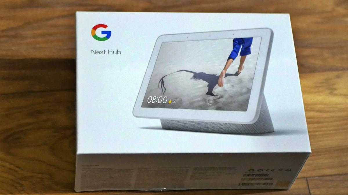 Google Nest Hub / fot. Kacper Żarski (oiot.pl)