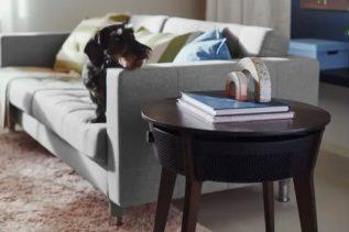 Oczyszczacz powietrza wbudowany w mebel? To właśnie zaprezentowała IKEA
