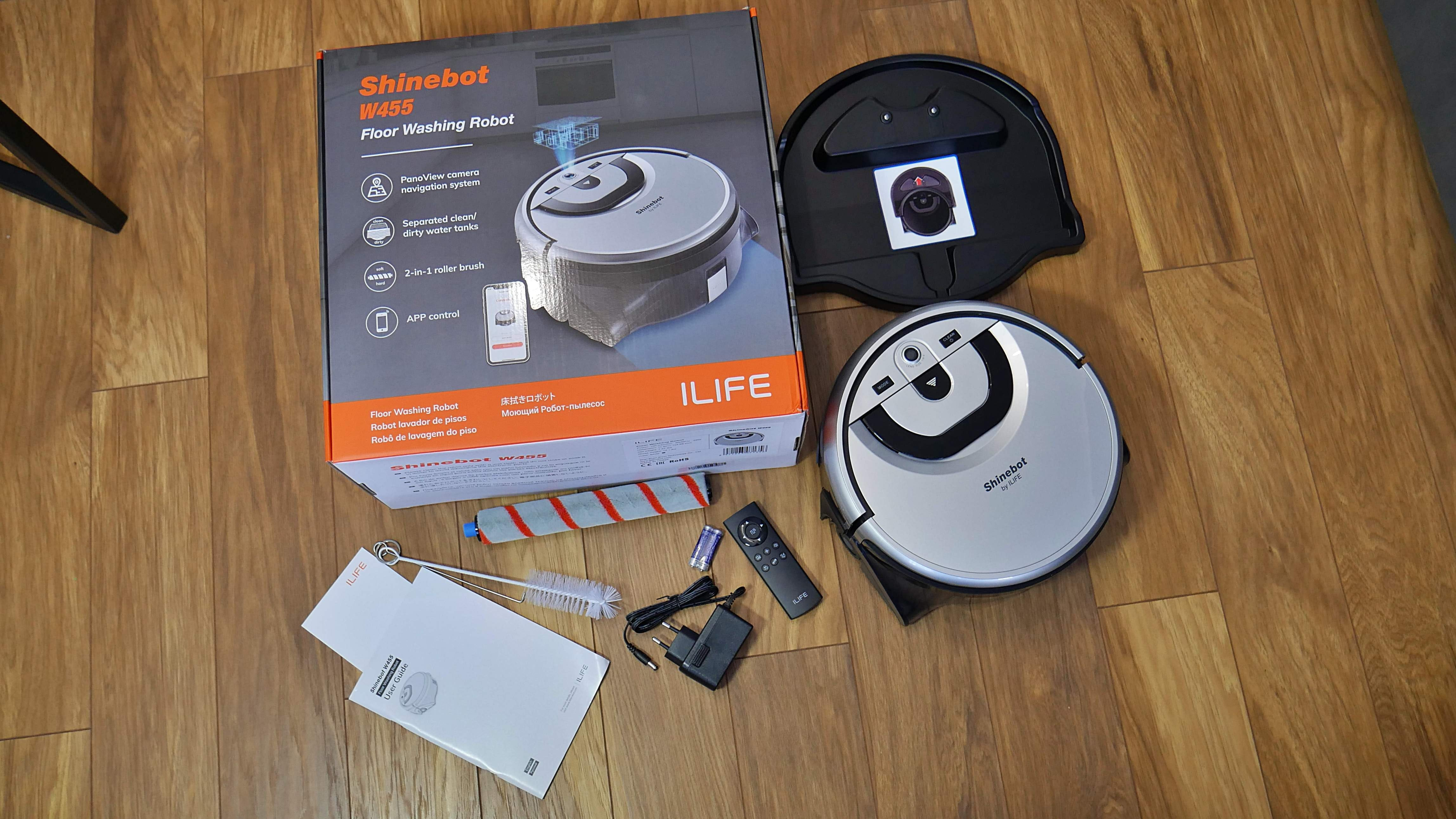 ILIFE Shinebot W455 / fot. Kacper Żarski (oiot.pl)