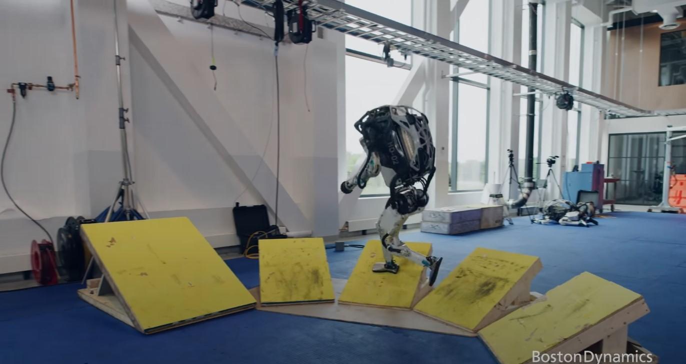Boston Dynamics Atlas fot. Boston Dynamics