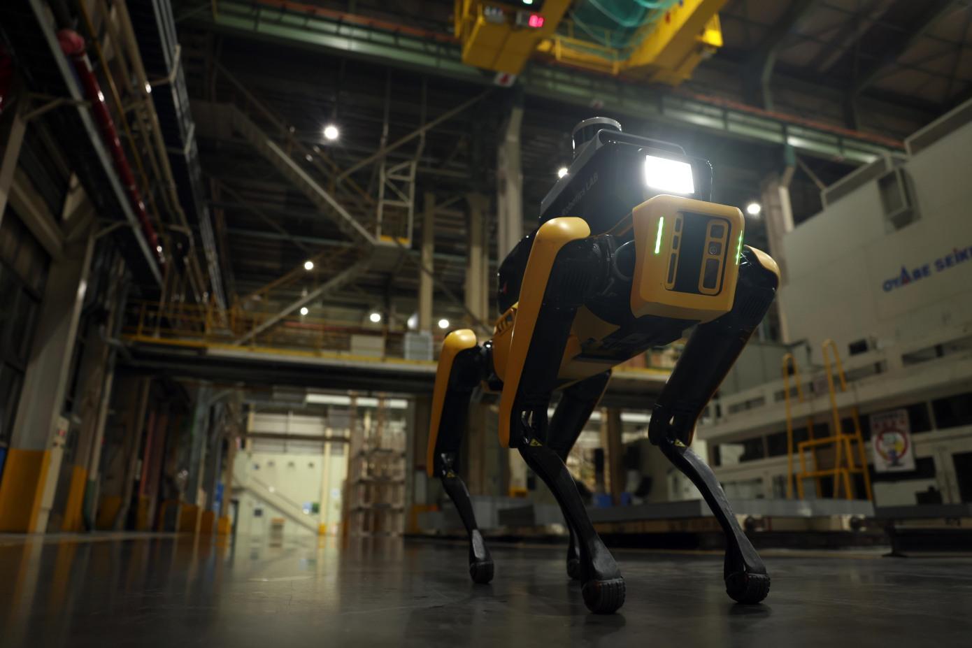 Boston Dynamics Spot vel Robot fot. Hyundai