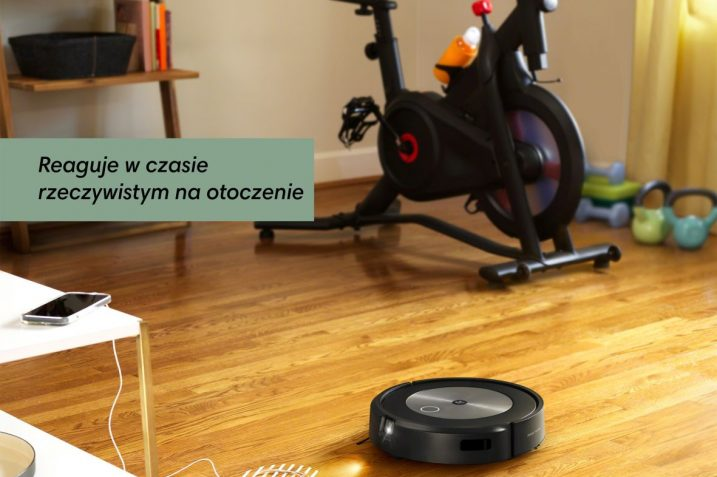 iRobot Roomba j7 i j7+ - nowe odkurzacze, które w miarę użytkowania stają się coraz mądrzejsze