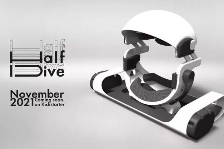 Japońskie gogle VR umożliwią granie w pozycji leżącej. Sprzedaż na Kickstarterze startuje już wkrótce