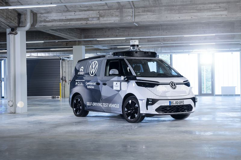 Volkswagen ID Buzz fot. via The Verge