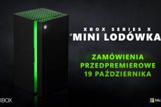 Już za kilka dni będziemy mogli kupić Xbox Series X Mini Fridge w Polsce!