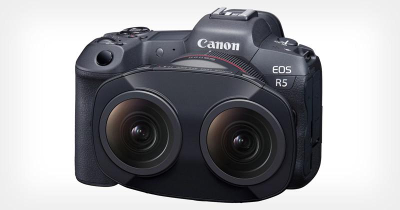 Obiektyw Canona pozwala tworzyć treści 3D VR