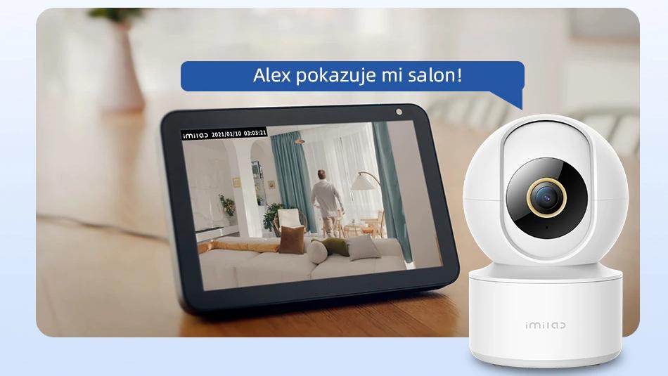 Imilab C21 - kamera monitoringu 2,5K z kolorowym trybem nocnym