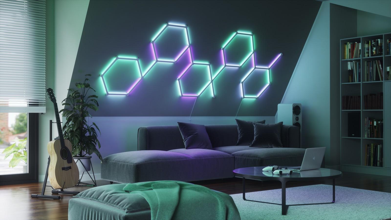 Nanoleaf Lines spodobają się minimalistom. Te paski LED robą robotę!