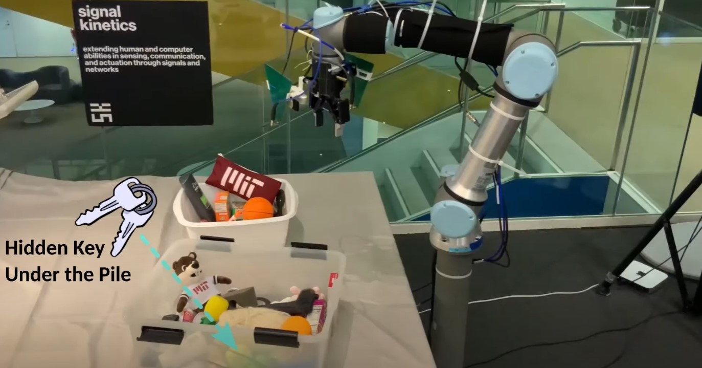 Robot RFusion fot. MIT